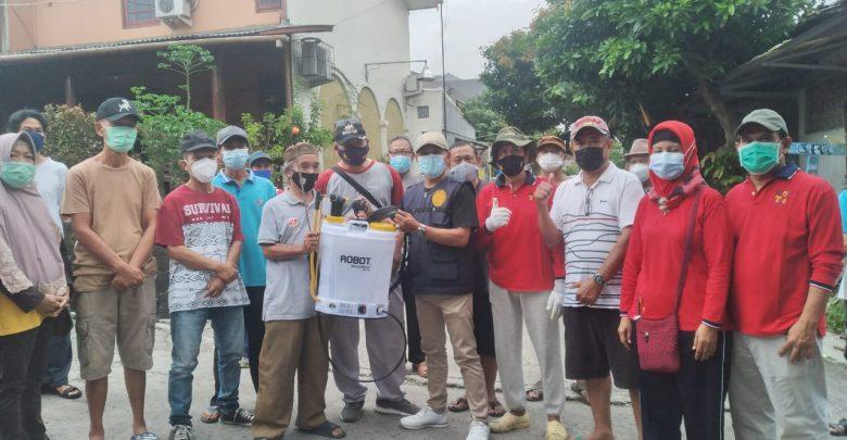 Cegah Penyebaran Covid-19, Kelurahan Depok Jaya Bagikan ...